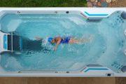 Swim spa: hacer ejercicio en una gran bañera